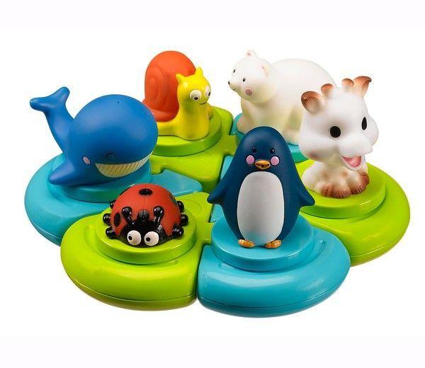 Badelegetøj fra Sophie Giraf (Vulli) - 4D puslespil med dyr