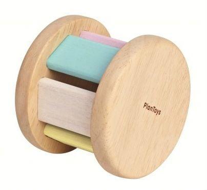 Image of   Rulle rangle fra Plantoys - Roller - Pastel