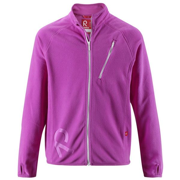 Image of   Micro Fleece trøje fra Reima - Willy - Bright Orchid