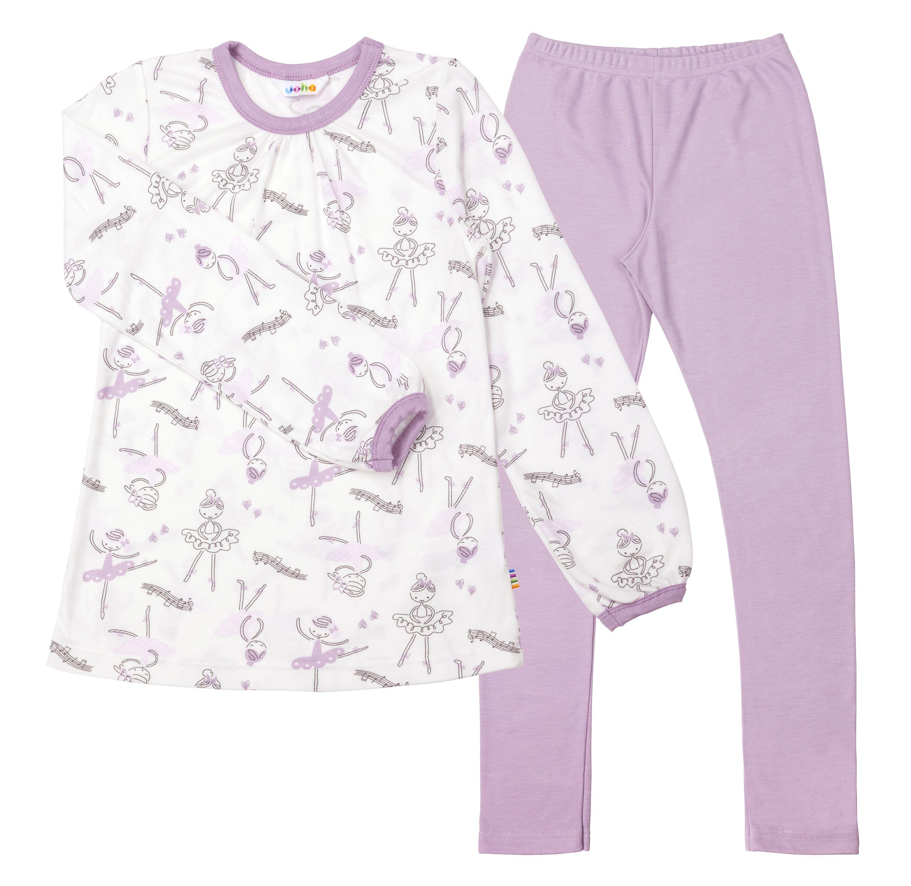 Image of   Pyjamas fra Joha - Bambus - Ballerina print