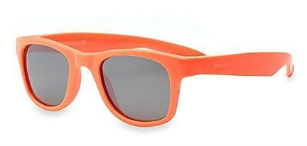 Solbriller fra real shades - surf flex - neon orange fra Real kids shades fra babygear.dk