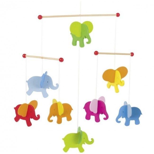 Image of   Uro i træ fra Goki - Elefanter