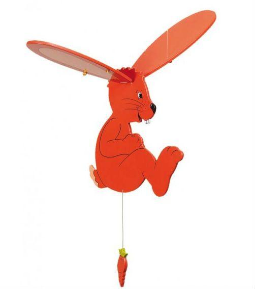 Image of   Uro fra Goki - Swinging Rabbit (34 cm)