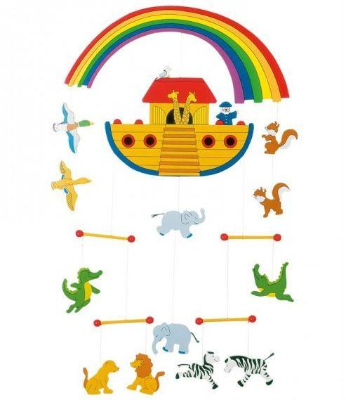 Image of   Uro i træ fra Goki - Stor - Noas Ark