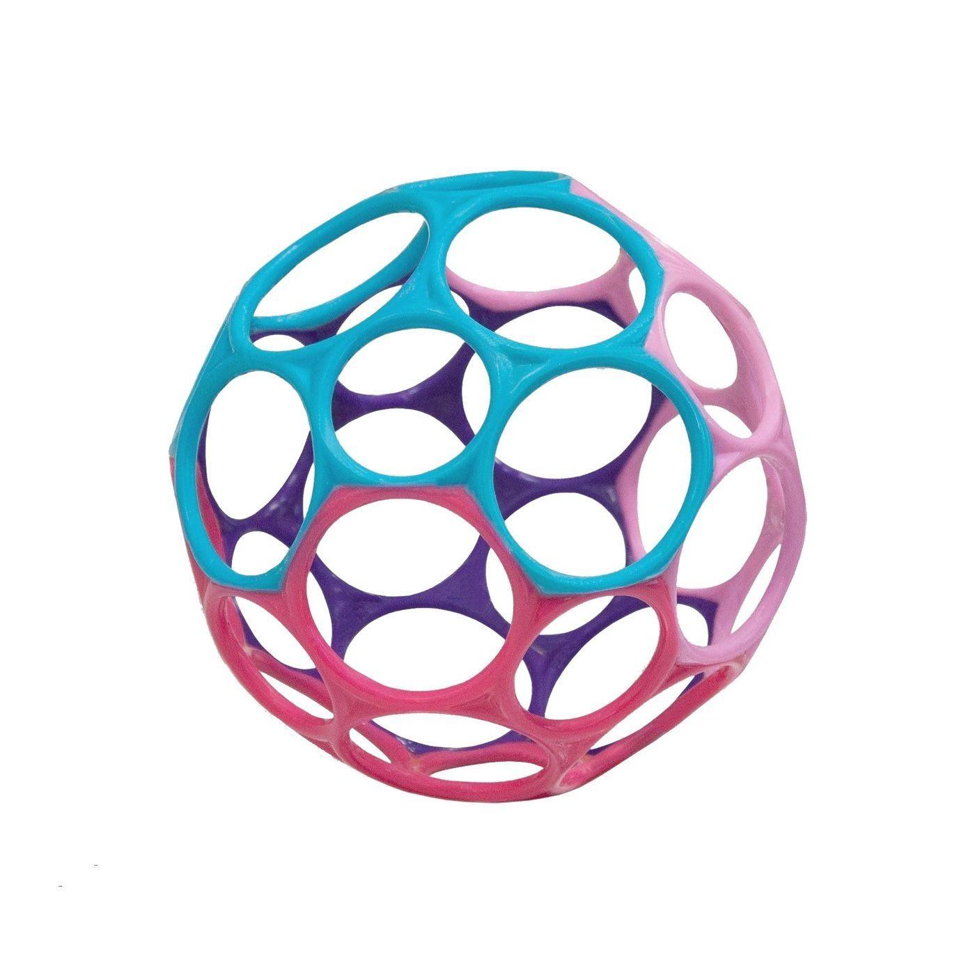 Image of Motorikbold fra Oball - Pige (10 cm) (81024_pige)