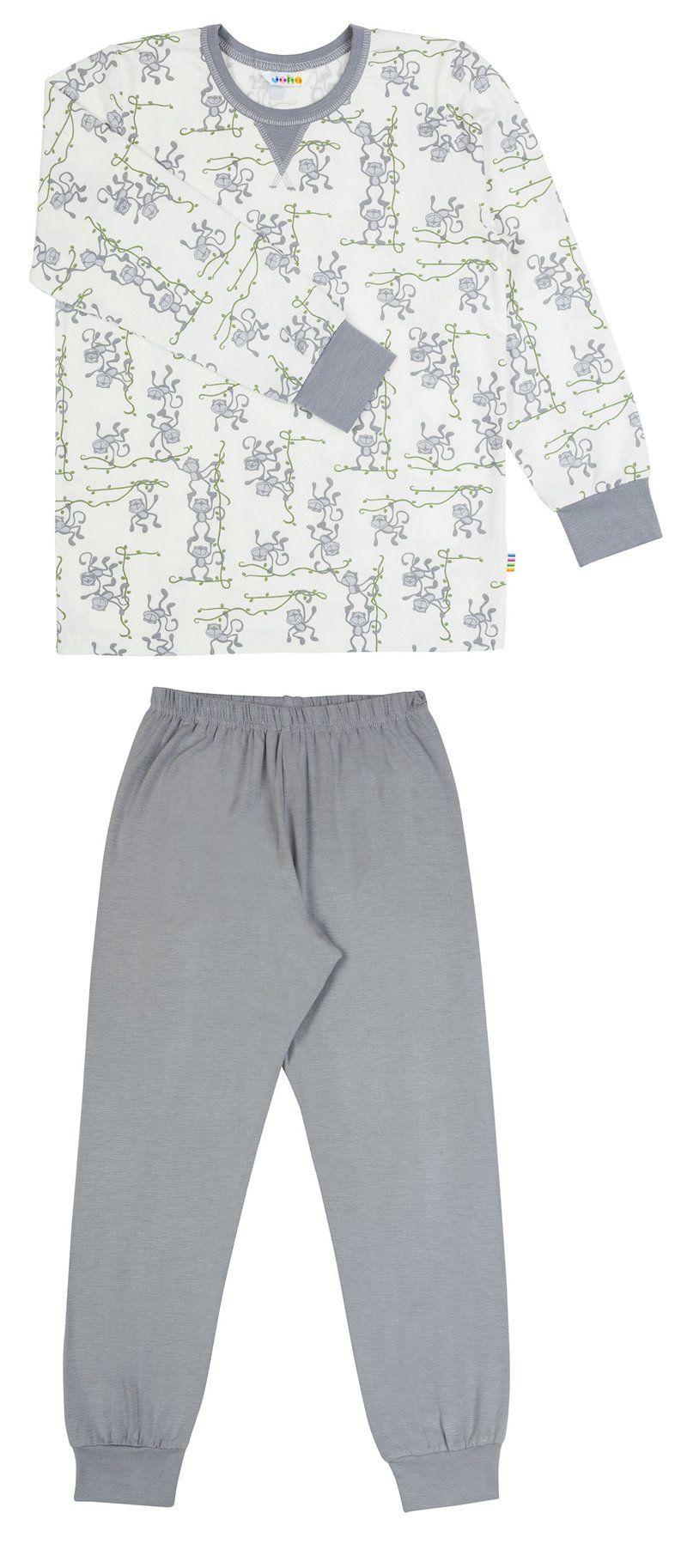 Image of   Pyjamas fra Joha i organic bambus - Monkey