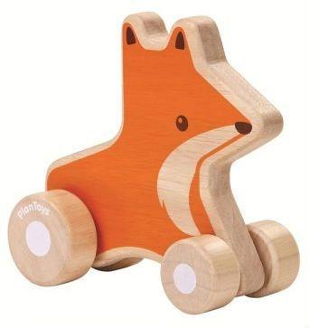 Image of   Ræve wheelie fra PlanToys