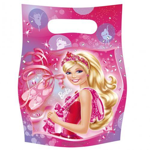 Image of   Goodie bags - Barbie (6 stk)