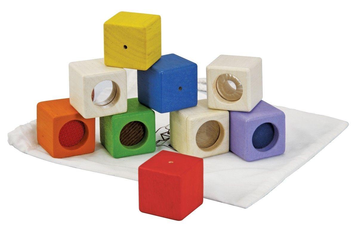 Image of   Aktivitets-klodser fra Plantoys - Bæredygtigt legetøj