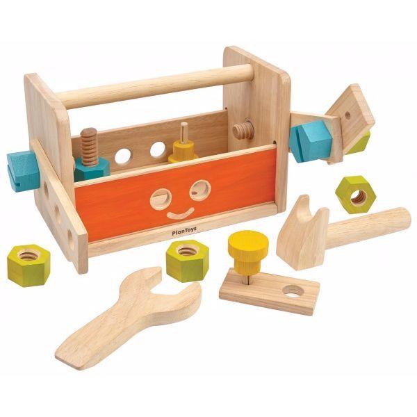Image of   Robot værktøjskasse fra Plantoys - Bæredygtigt legetøj
