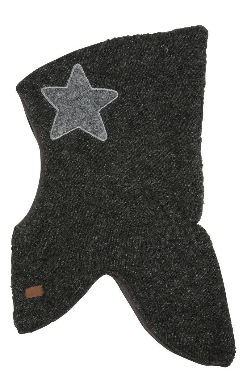 Image of   Elefanthue fra Melton - Uld bouclé - Star Antracit