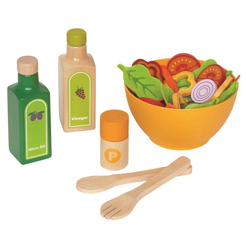 Image of   Garden Salad fra Hape - Legemad i træ