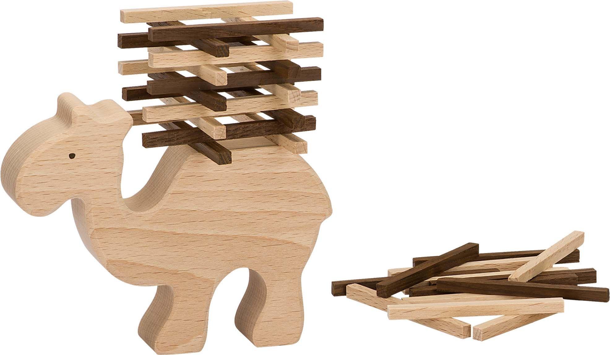 Image of Balancespil fra Goki Nature - Camel Stacking Game (56693)