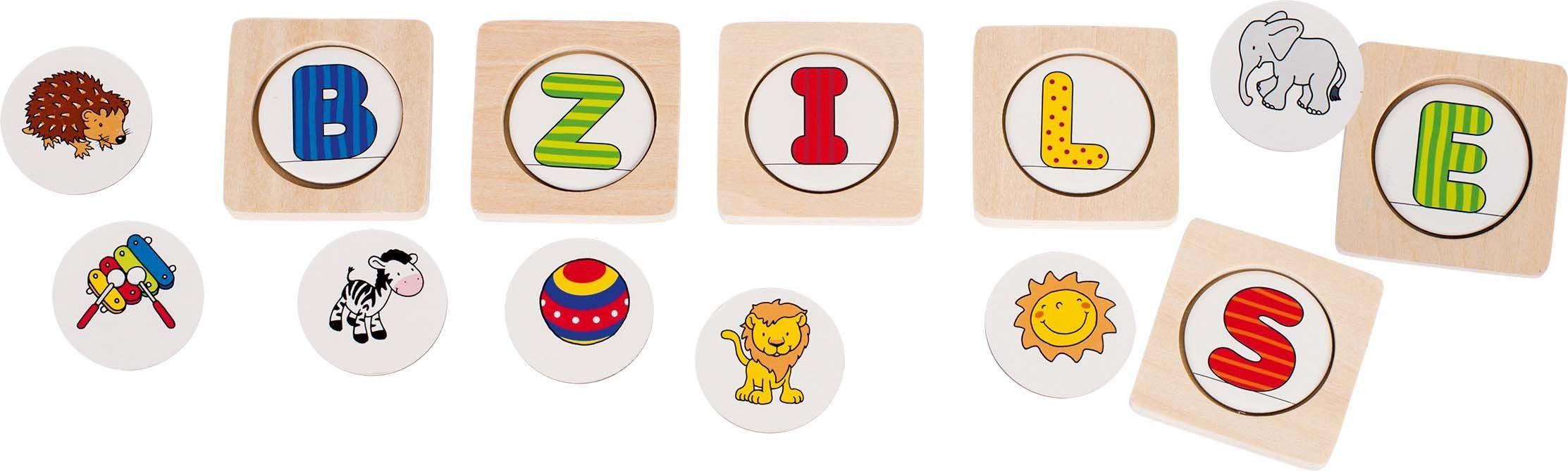 Image of Bogstavspil fra Goki - Memo game - Lær alfabetet (56719)