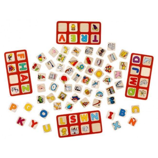 Image of Bogstavspil fra Goki - My ABC Game (56732)