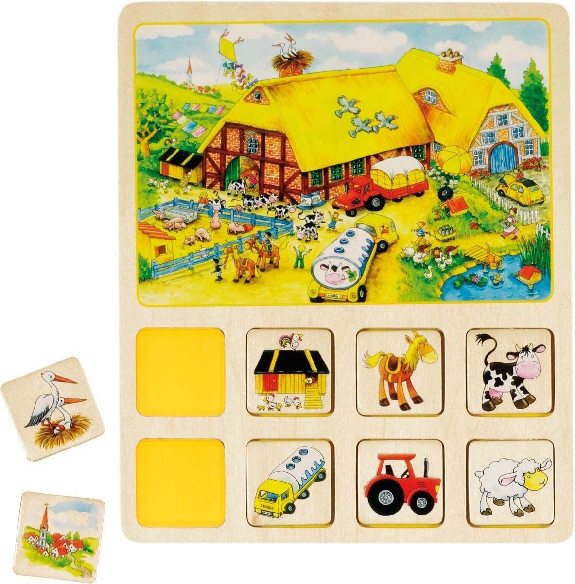 Image of Lotto fra Goki - Cirkus, bondegård, marked og legeplads (56740)