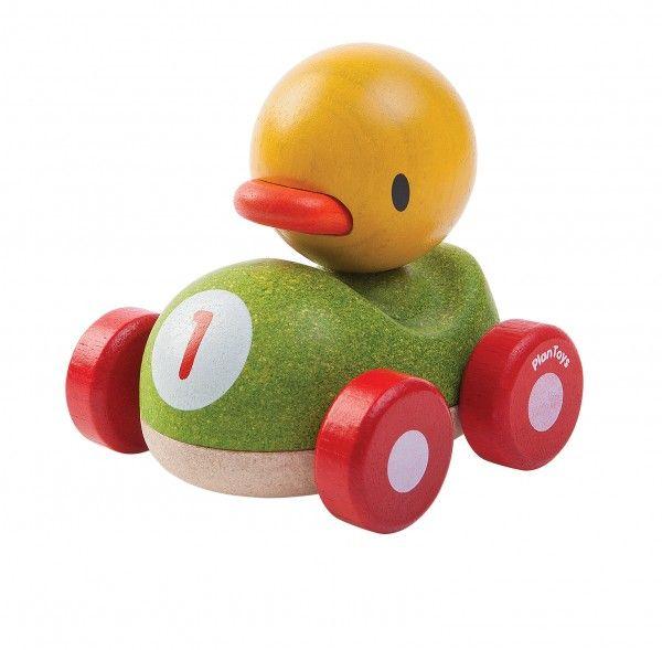 Image of   Ande-racerbil fra Plantoys - Bæredygtigt legetøj