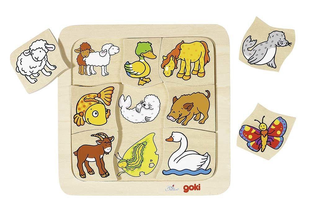 Image of Puslespil fra Goki - Hvem hører sammen? (2+) (56879)