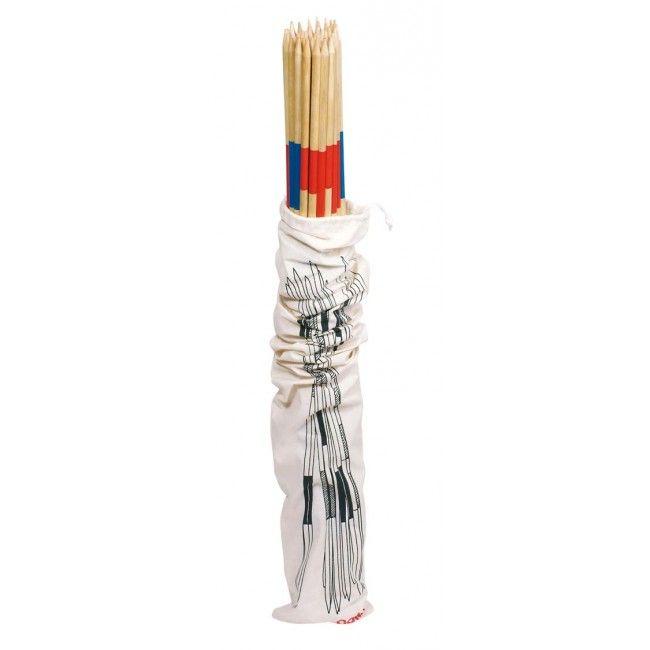 Image of   Gigant Mikado pindespil fra Goki (80 cm)