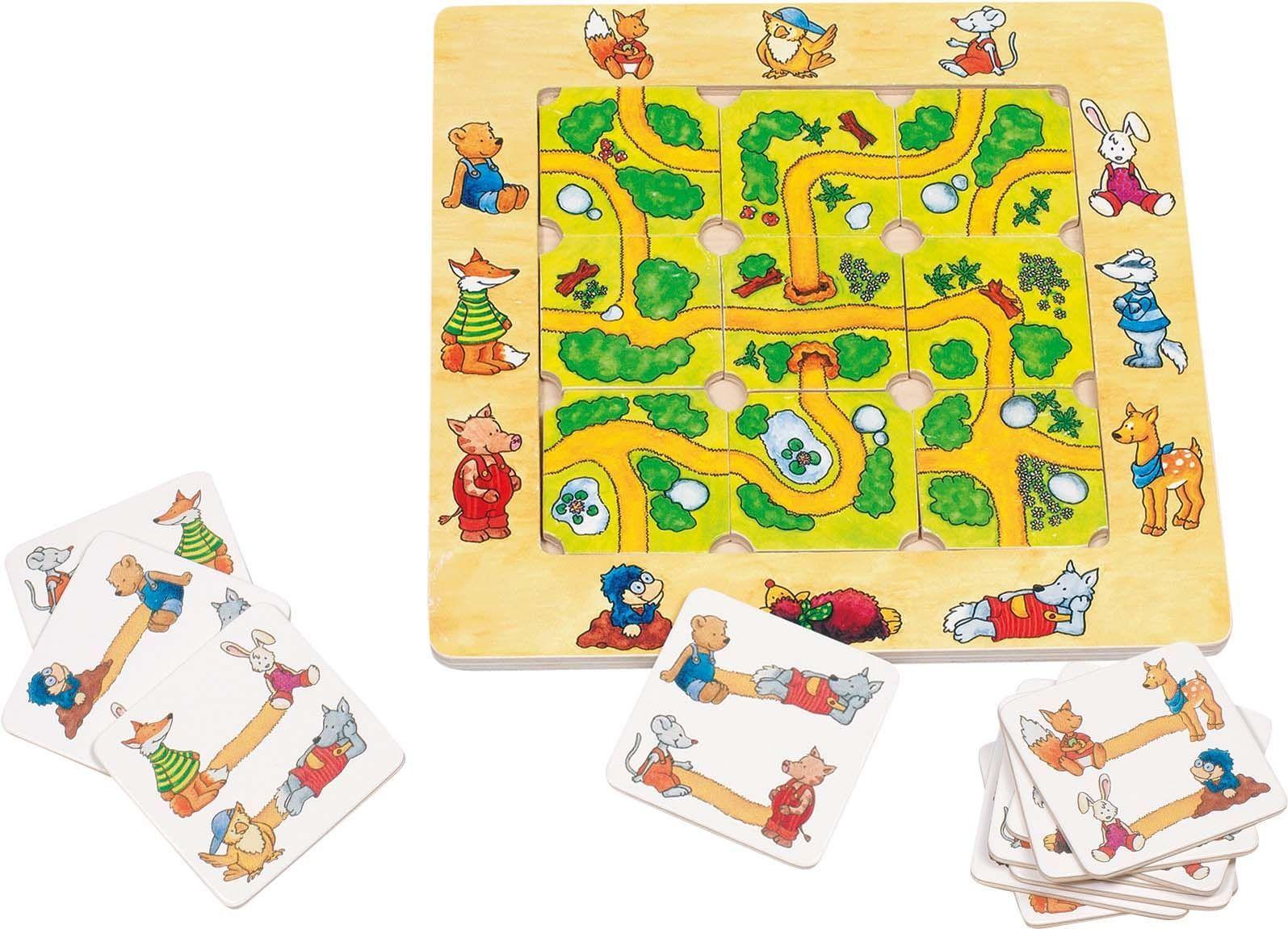 Image of Pusle brætspil fra Goki - Find vej (56944)