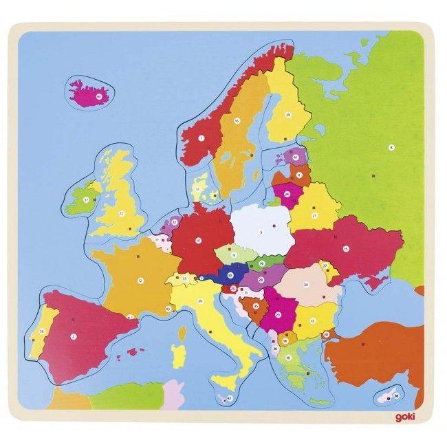 Image of Puslespil fra Goki - Europa (5+) (Europe)