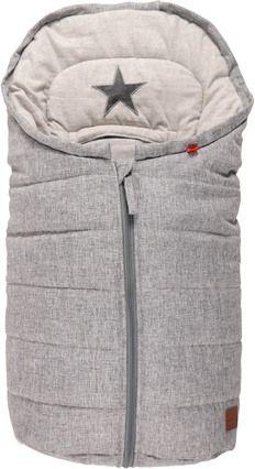 Baby kørepose fra Kaiser - ANNA Melange - Grey Star