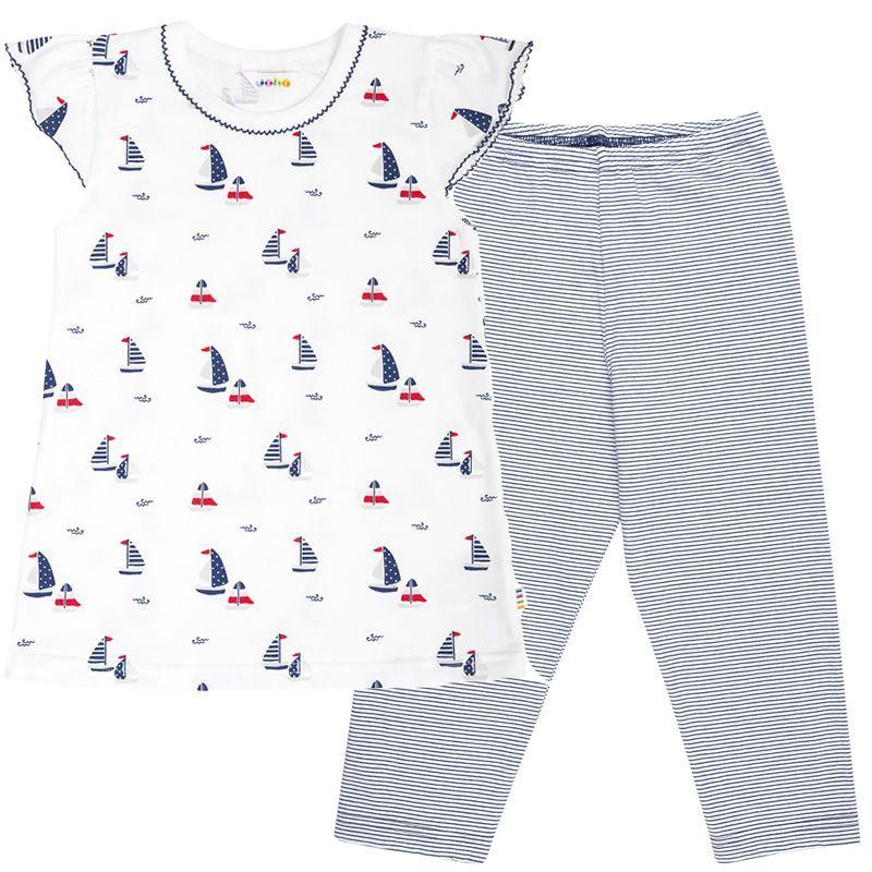Image of   Pyjamas fra Joha - korte ærmer - Sailor Girl