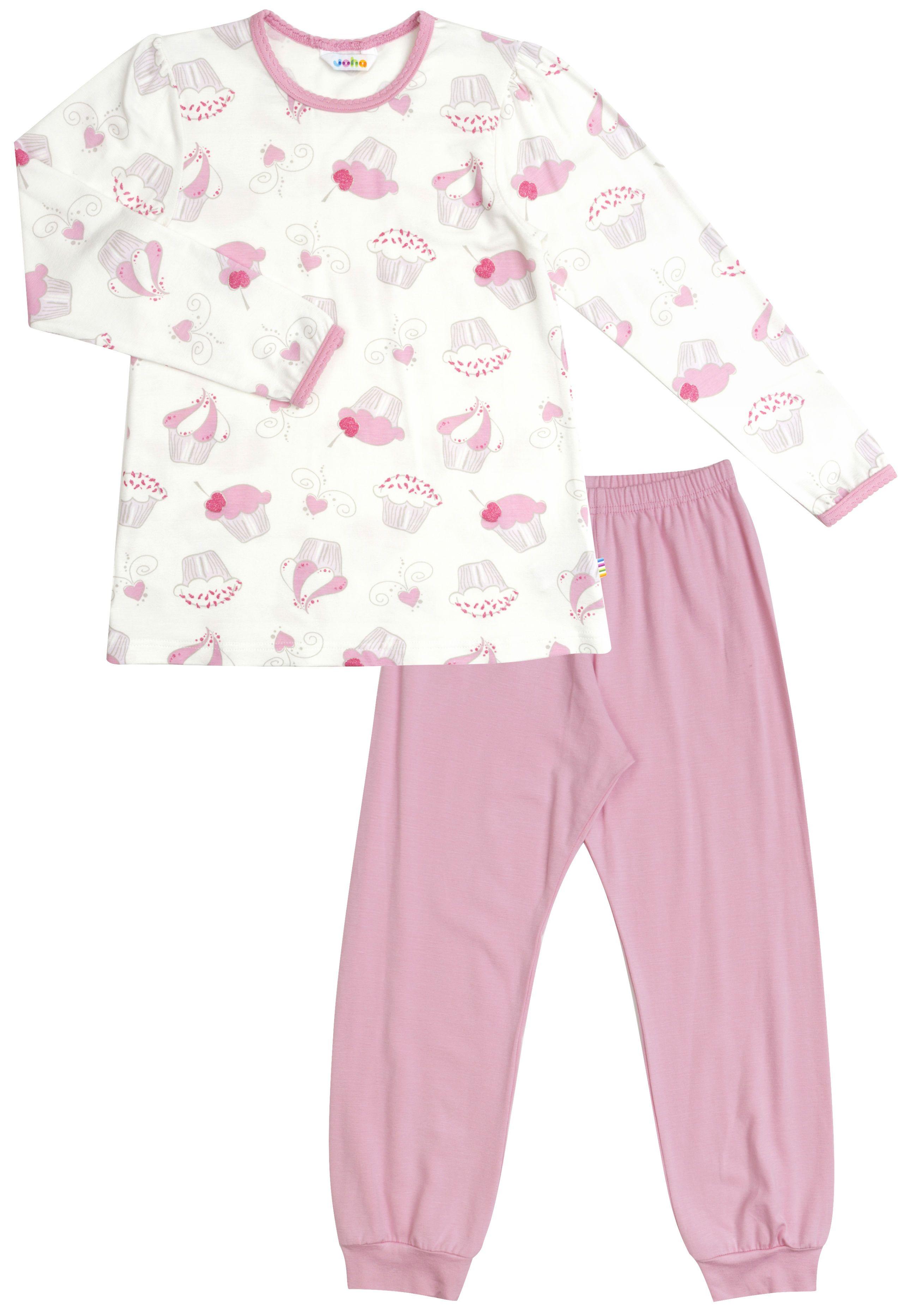 Image of Pyjamas fra Joha - Bambus - Cupcakes (58300-345-2268)