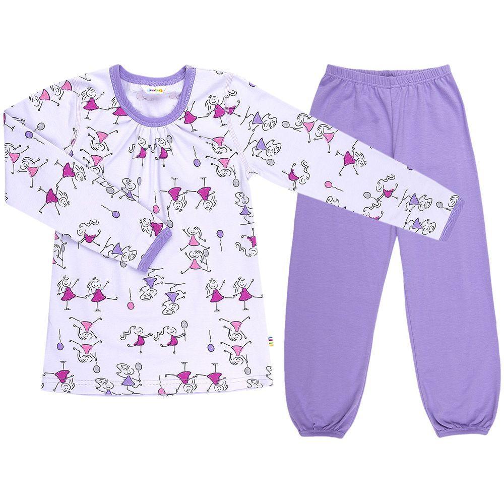 Image of   Pyjamas m. glimmer fra Joha - Girls