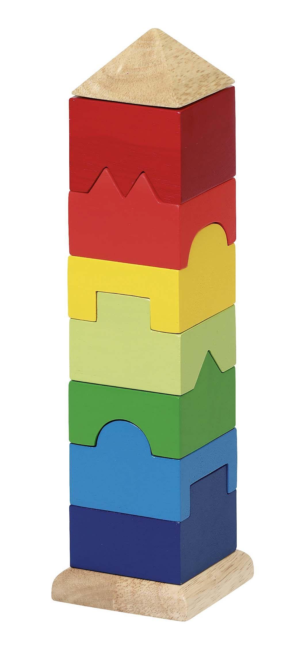 Image of   3D Stabeltårn fra Goki - Stacking tower (2+)