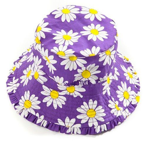 Image of   Solhat fra Smallstuff - Purple Daisy
