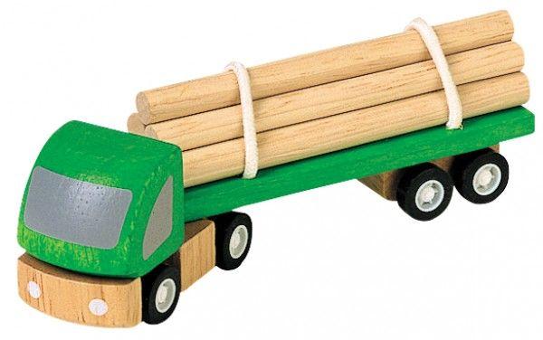 Billede af Lille tømmer lastvogn fra Plantoys