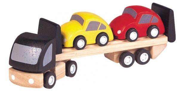 Billede af Lille bil-transportvogn fra Plantoys