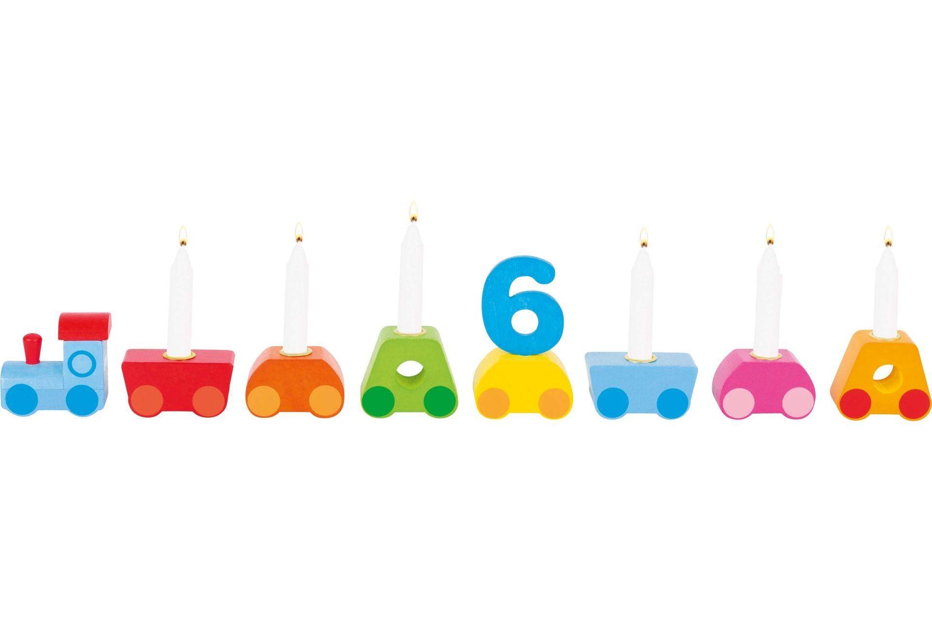Image of Fødselsdagstog fra Goki - Rainbow (60771)