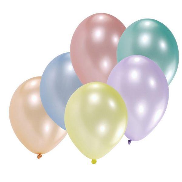 Balloner - Latex - Metallic Pearl (10 stk)