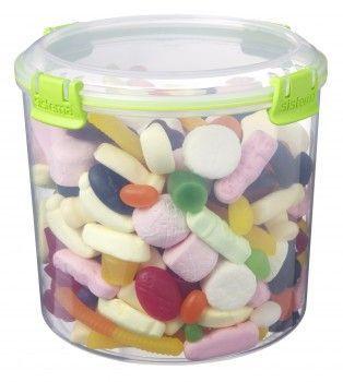 Image of   Candy box fra Sistema til sukker m.m. (2,2 liter) - Grøn Accents