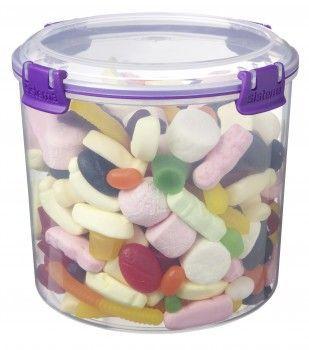 Image of   Candy box fra Sistema til sukker m.m. (2,2 liter) - Lilla Accents