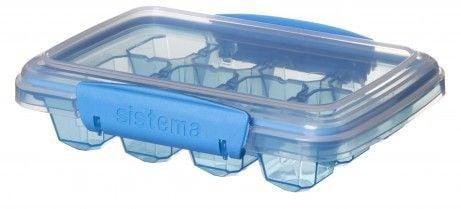Image of Frostboks til babymad - Sistema Ice Tray - Medium - Turkis (61445_Turkis)