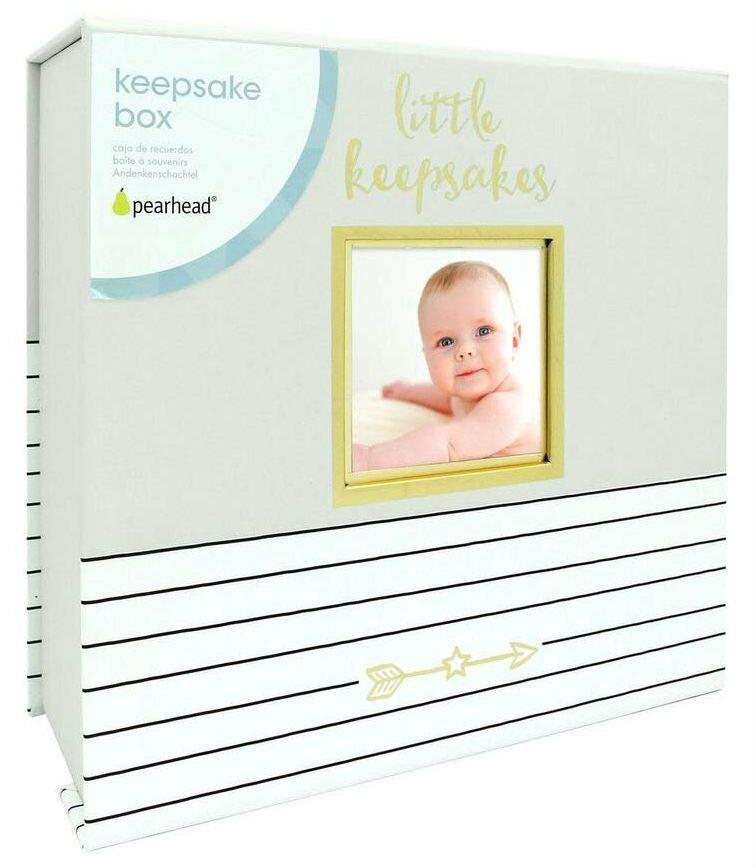 Image of Baby souvenirboks fra Pearhead - Hello Baby Keepsake Box (73009)