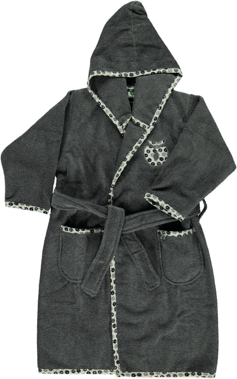 Badekåbe fra Småfolk - Mørkegrå