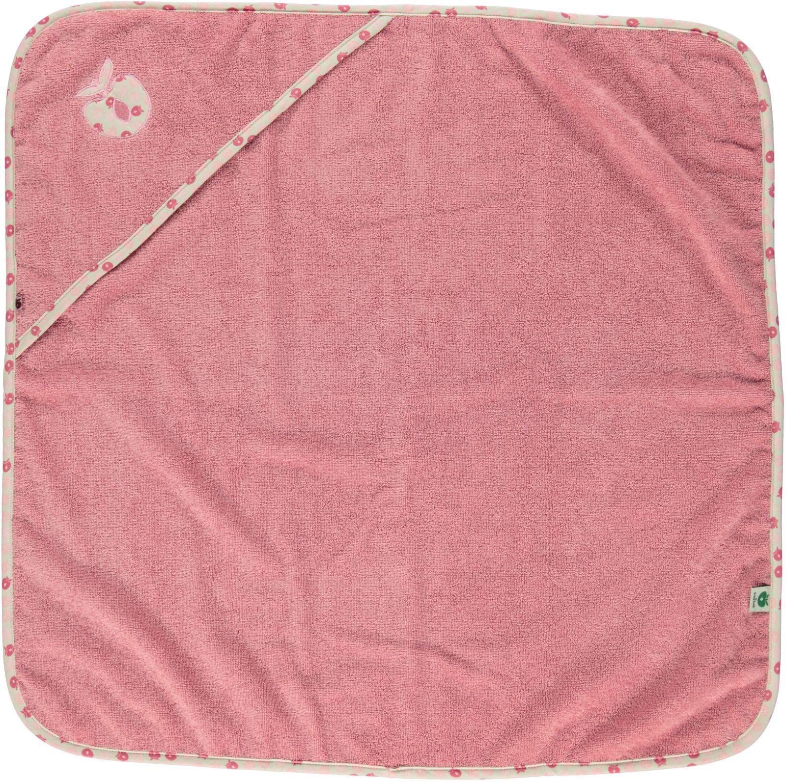 Småfolk – Småfolk baby håndklæde - gammelrosa fra babygear.dk