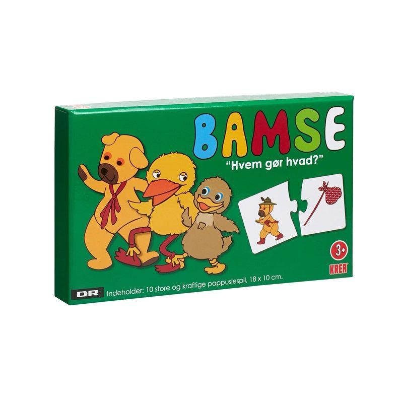 Image of Minispil - Hvem gør hvad? - Bamse, Kylling og Ælling (5707152063291)