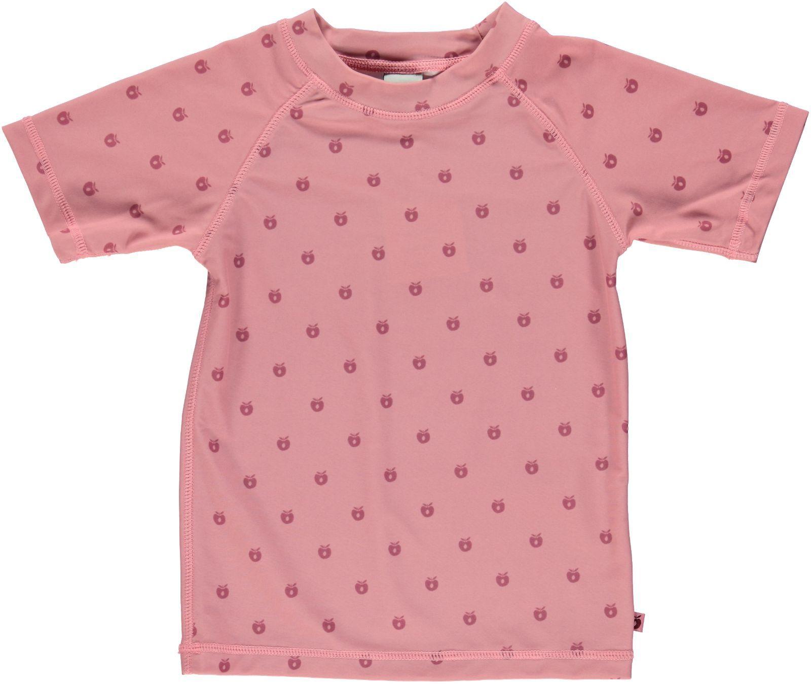 Image of UV T-shirt m/micro æbler fra Småfolk - Blush (64-9950-blush)