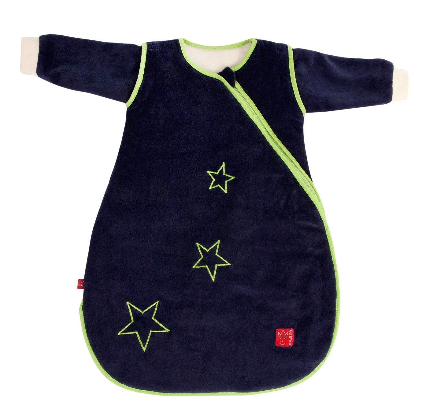 Image of   Helårs sovepose fra Kaiser - Nicki STAR - Navy (Öko-Tex)