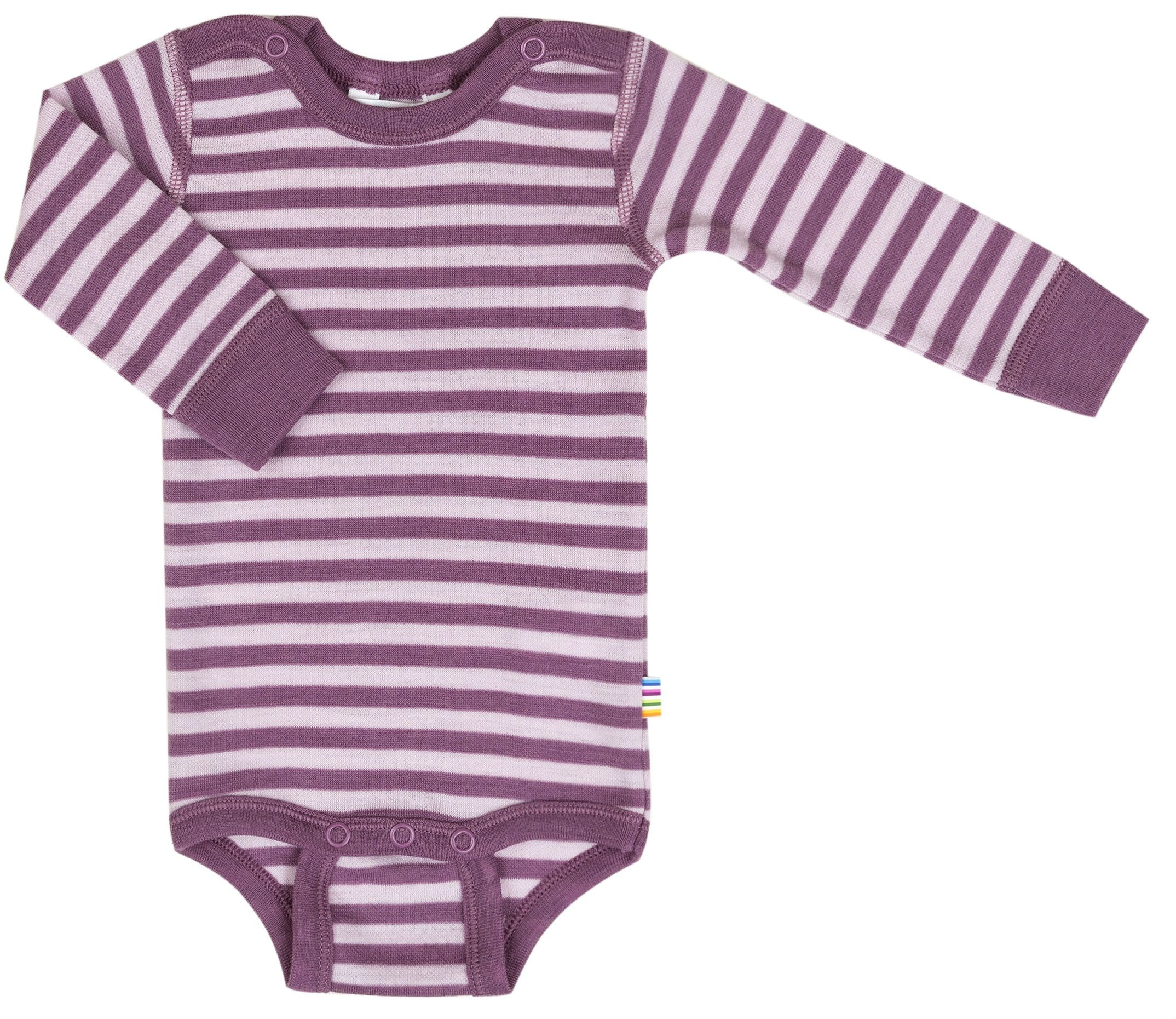 Image of   Body fra Joha - Uld - L/Æ - Stripe Grape