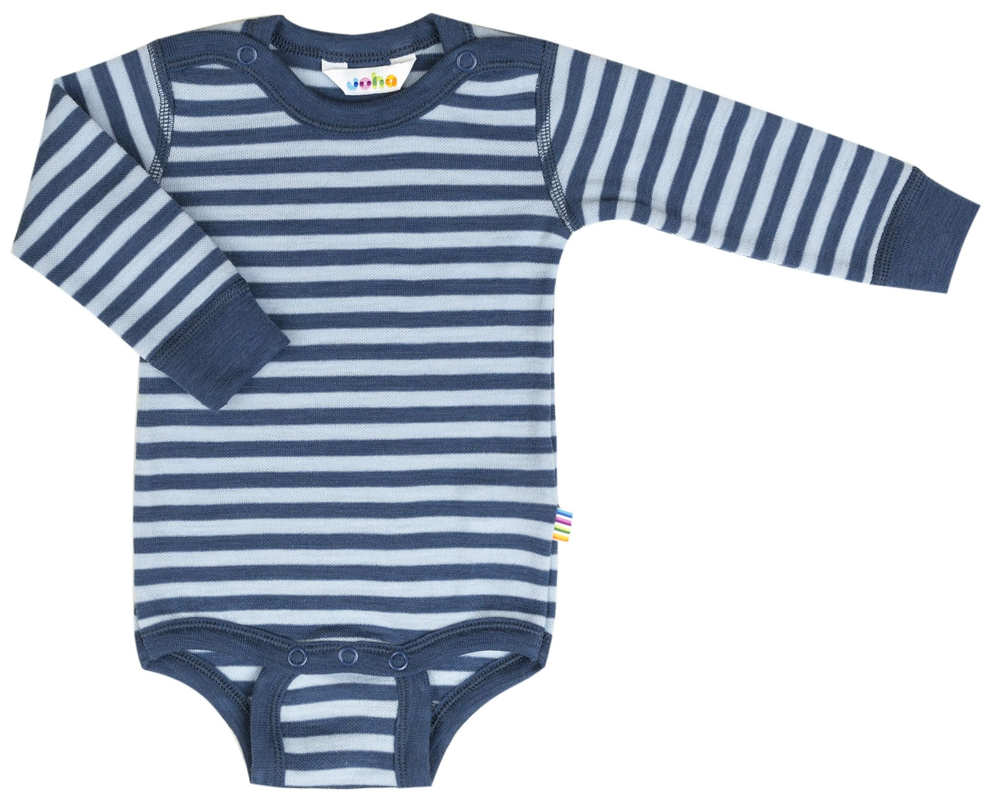 Image of   Body fra Joha - Uld - L/Æ - Stripe Blue