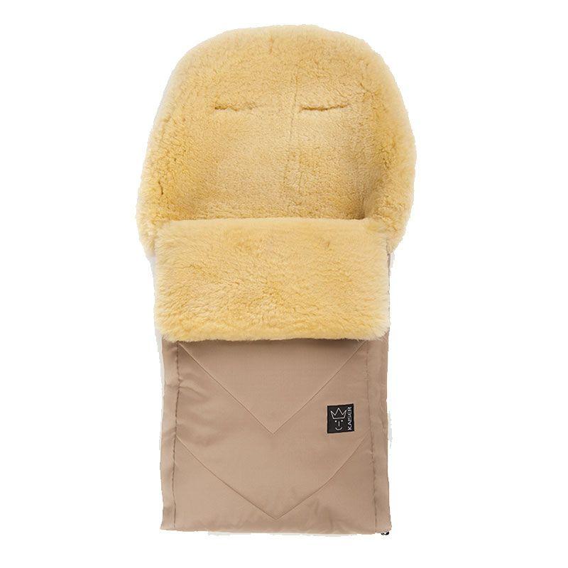 Kørepose m. lammeskind - Dublas Premium - Sand