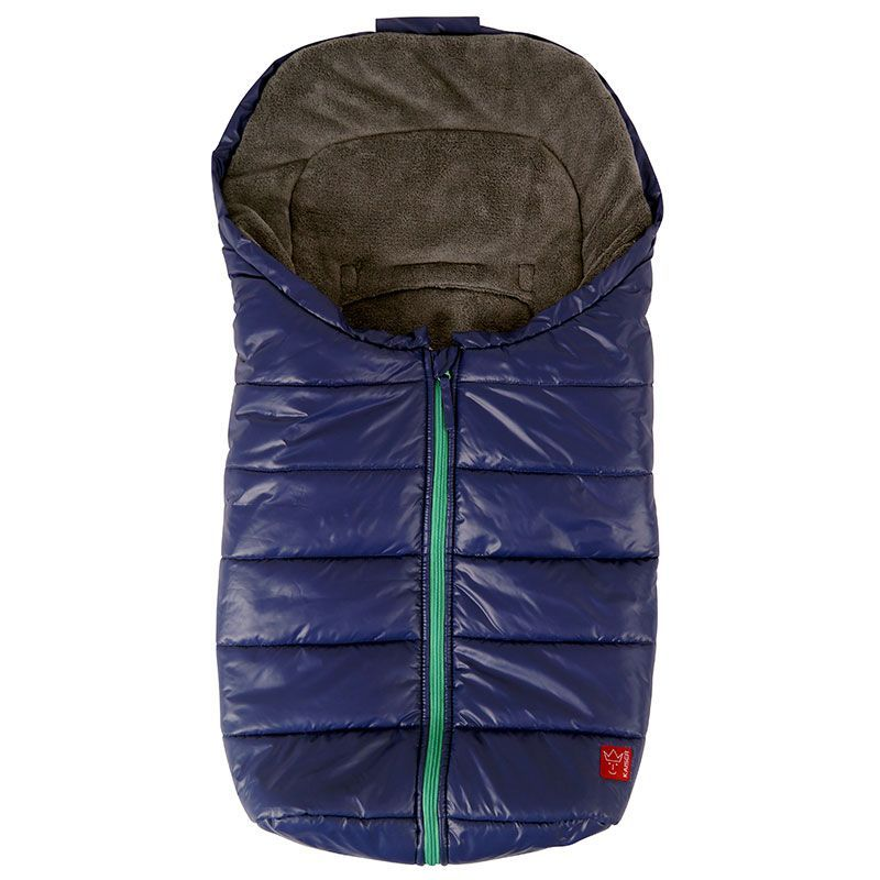 Baby kørepose fra Kaiser - Anna - Marine m. grøn