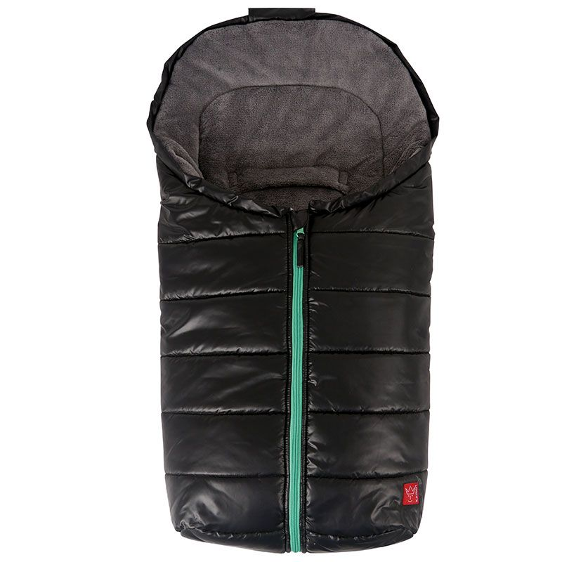 Baby kørepose fra Kaiser - Anna - Sort m. grøn