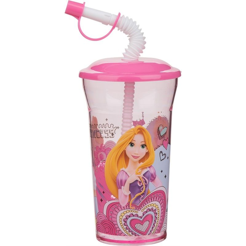 Image of Drikkeflaske m. sugerør fra Trudeau - Disney prinsesser (7-6547330)